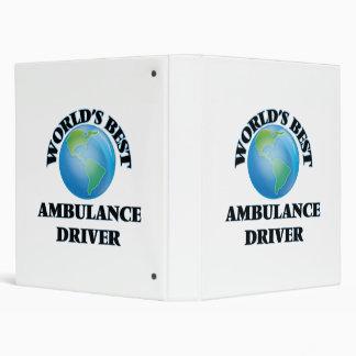 World's Best Ambulance Driver Binders