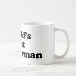 World's Best Anchorman Classic White Coffee Mug