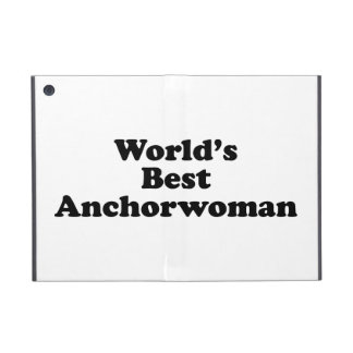 World's Best Anchorwoman Covers For iPad Mini