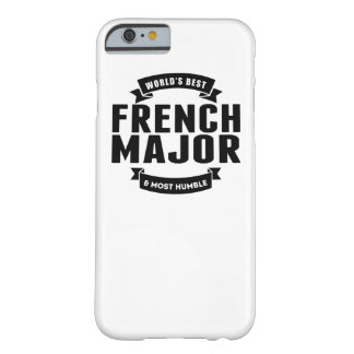 World's Best And Most Humble French Major Barely There iPhone 6 Case