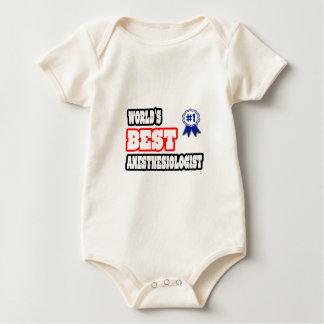 World's Best Anesthesiologist Baby Bodysuit