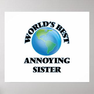 World's Best Annoying Sister Poster