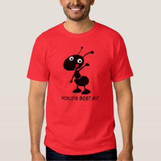 world's best ant tee shirt