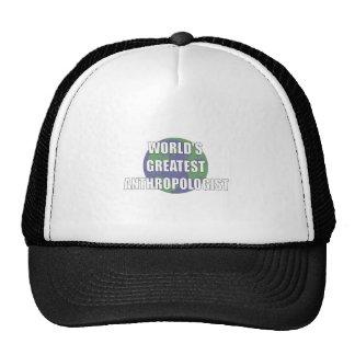 World's Best Anthropologist Trucker Hat