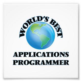 World's Best Applications Programmer Art Photo