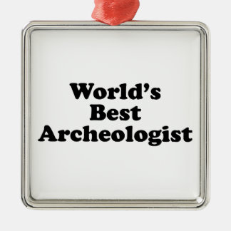 World's Best Archaeologist Christmas Tree Ornaments
