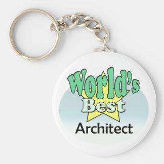 World's best architect keychains