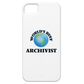 World's Best Archivist iPhone 5/5S Cover