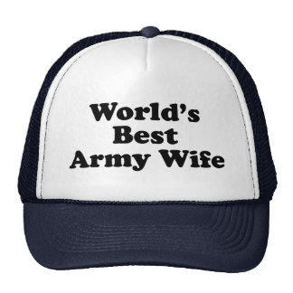 World's Best Army Wife Trucker Hat