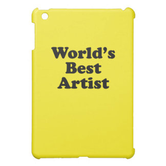 World's Best Artist iPad Mini Cover