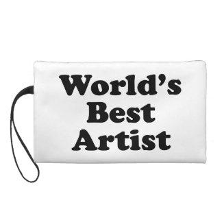 World's Best Artist Wristlet Purse