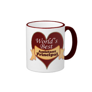 World's Best Assistant Principal Mugs