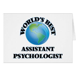 World's Best Assistant Psychologist Cards
