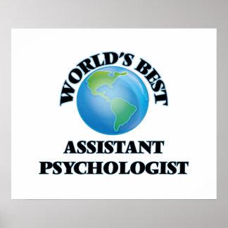 World's Best Assistant Psychologist Poster