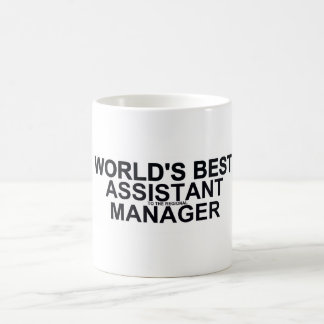 World's best Assistant (to the regional) Manager Classic White Coffee Mug