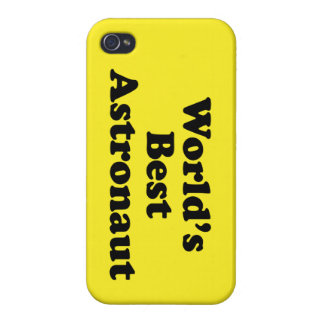 World's Best Astronaut Cover For iPhone 4