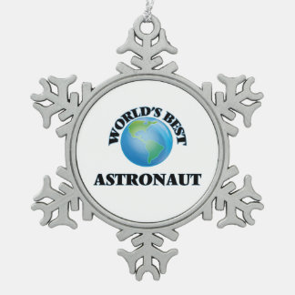 World's Best Astronaut Ornament