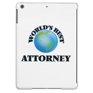 World's Best Attorney iPad Air Cases