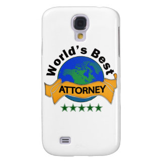 World's Best Attorney Galaxy S4 Case