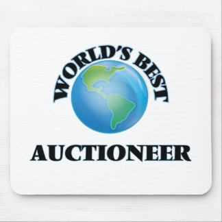 World's Best Auctioneer Mouse Pad