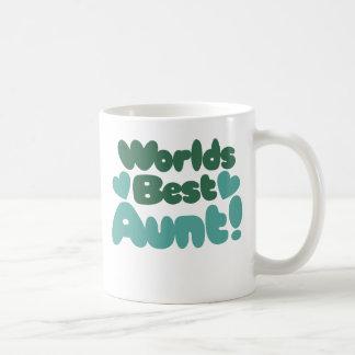 Worlds Best Aunt Classic White Coffee Mug