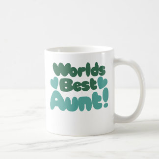 Worlds Best Aunt Coffee Mug