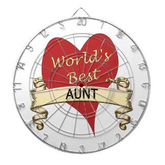 World's Best Aunt Dart Boards