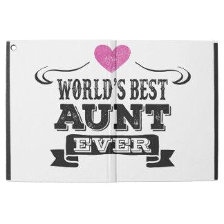 "World's Best Aunt Ever iPad Pro 12.9"" Case"