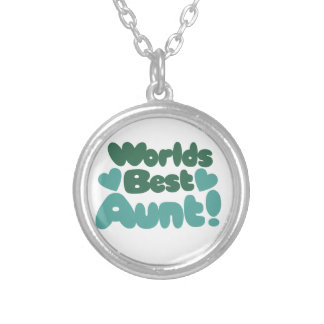Worlds Best Aunt Personalized Necklace
