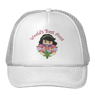 World's Best Aunt Tees and Gifts Hat