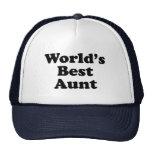 World's Best Aunt Trucker Hat