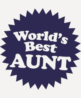 World's Best Aunt Tees