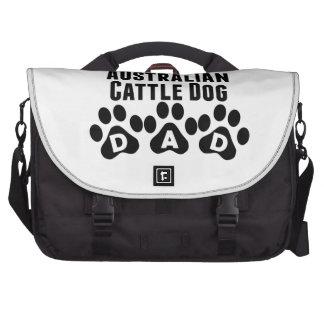 World's Best Australian Cattle Dog Dad Laptop Bags