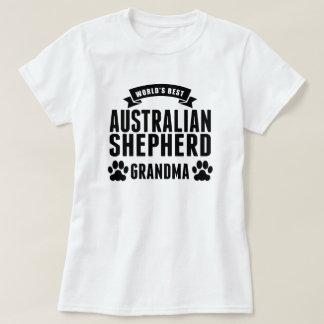 World's Best Australian Shepherd Grandma T-Shirt