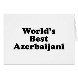 World's Best Azerbaijani Card