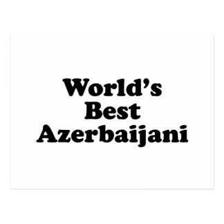 World's Best Azerbaijani Postcard