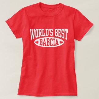 World's Best Babcia T-Shirt
