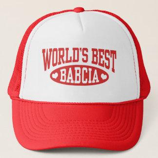 World's Best Babcia Trucker Hat