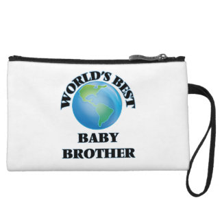 World's Best Baby Brother Wristlet Purse