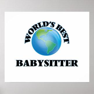 World's Best Babysitter Print
