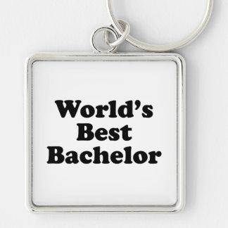 World's Best Bachelor Keychain