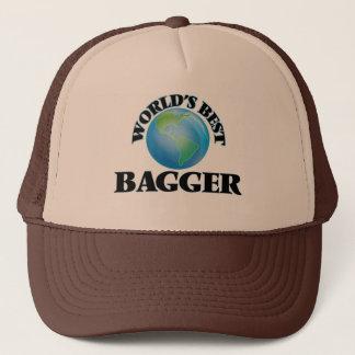 World's Best Bagger Trucker Hat