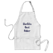 World's Best Baker Apron