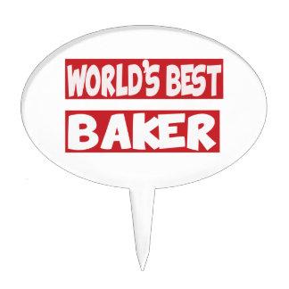 World's best Baker. Cake Pick