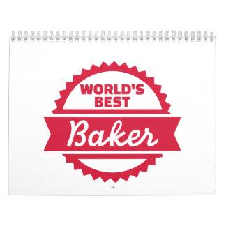 World's best Baker Calendar