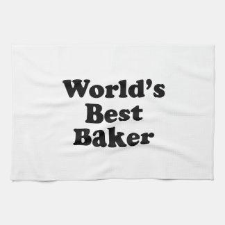 World's Best Baker Kitchen Towels