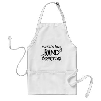 World's Best Band Director Adult Apron