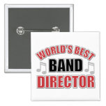 World's Best Band Director Button