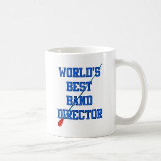 World's Best Band Director Classic White Coffee Mug