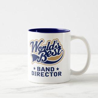 Worlds Best Band Director Gift Two-Tone Coffee Mug